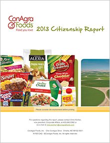 2013 Citizenship Report Cover Photo