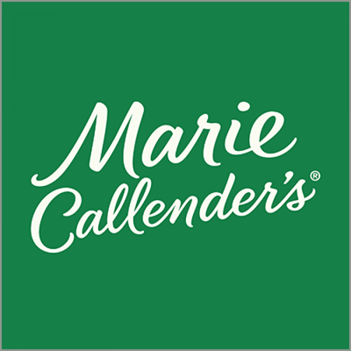 Go to the Marie Callender's website.